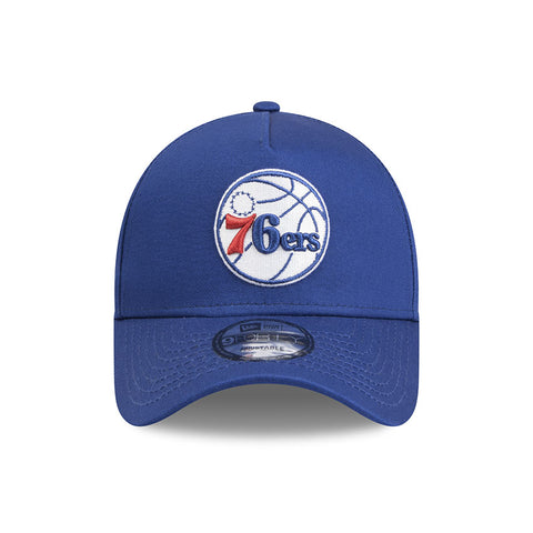 Philadelphia 76ers New Era Youth Scarlet 9forty Adjustable Cap
