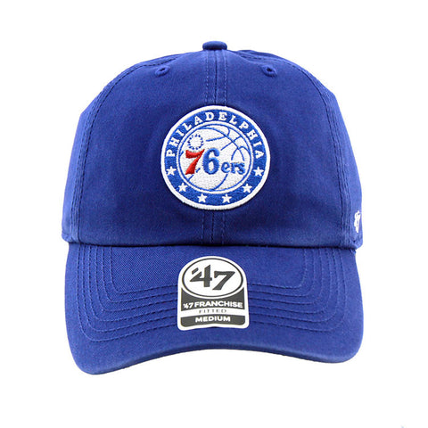 Philadelphia 76ers Blue Fashion Fitted 47 Brand Cap
