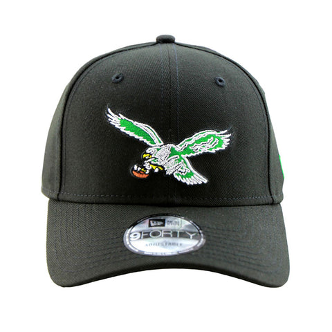 Philadelphia Eagles 9Forty NEW ERA Navy Snapback Cap Alt Logo