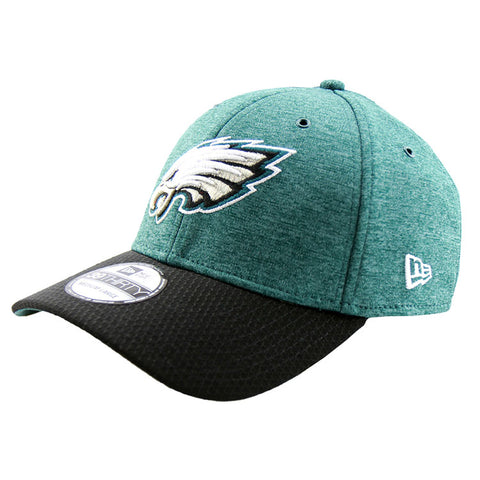 Philadelphia Eagles New Era 2018 Sideline Collection Onfield Fitted 3930 Pre Curved Cap