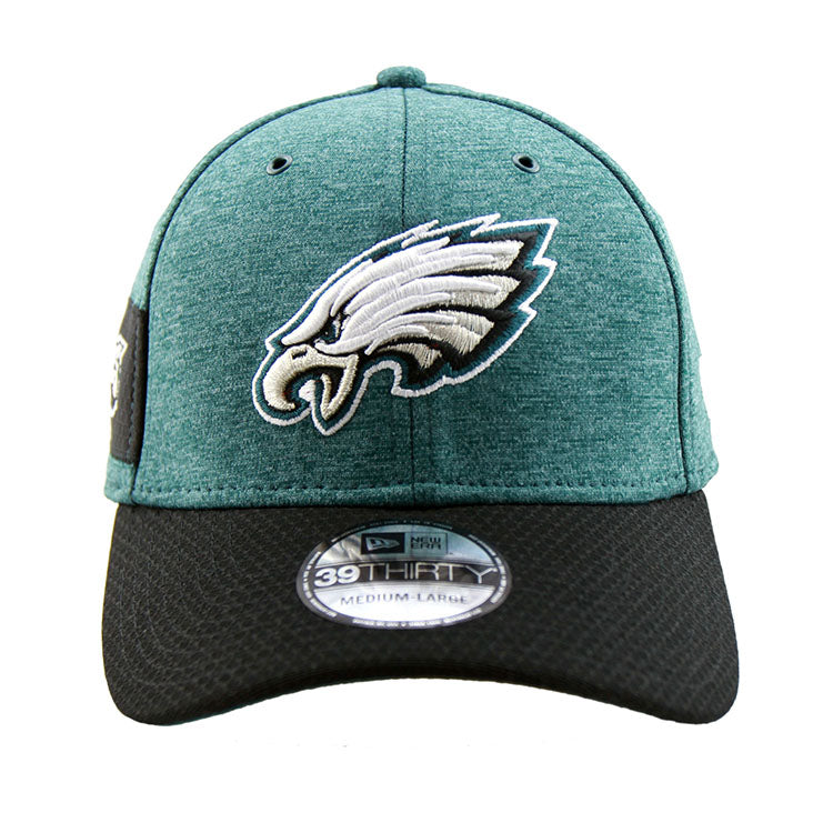 950a496651a Philadelphia Eagles New Era 2018 Sideline Collection Onfield Fitted 39 –  Lidzcaps