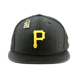 Pittsburgh Pirates MLB Pin Black Fleck Fitted New Era Cap