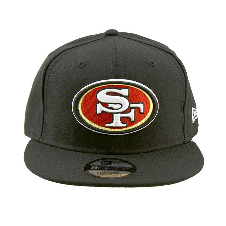 San Francisco 49ers Black Snapback Cap New Era