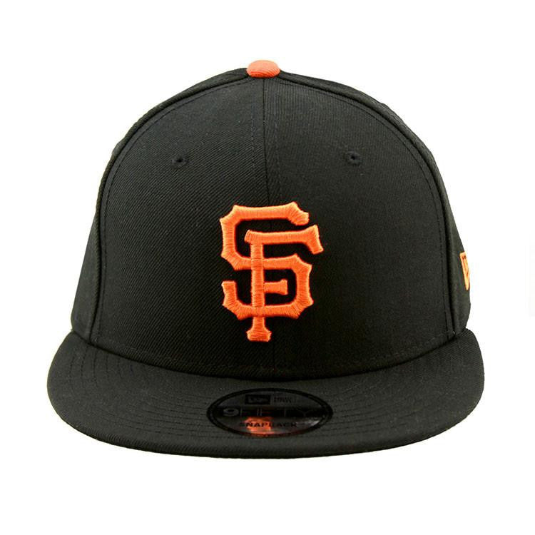 San Francisco Giants Black Orange Fashion 9Fifty Cap