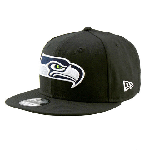 Seattle Seahawks Black Snapback Cap New Era