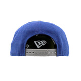 Seattle Seahawks New Era Heather Action Blue Grey Snapback Cap