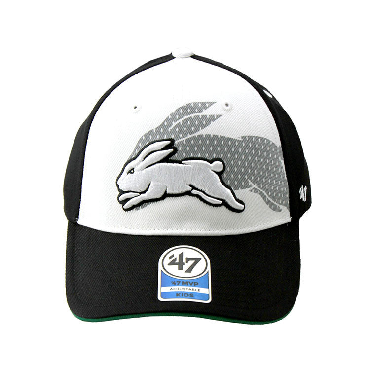South Sydney Rabbitohs 47 Brand NRL Kids Velcro Cap