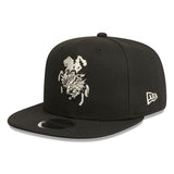 St George Dragons Black White NEW ERA 9fifty Snapback Cap