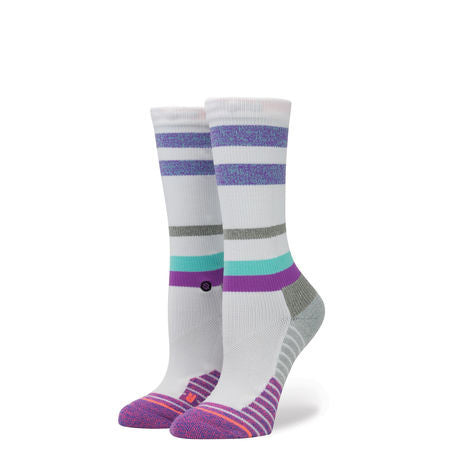 Sport Stance Socks: Womens Fusion Athletic Dugout Crew