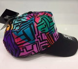 Starter Brand 90s Snapback Multi-coloured Black Label Cap
