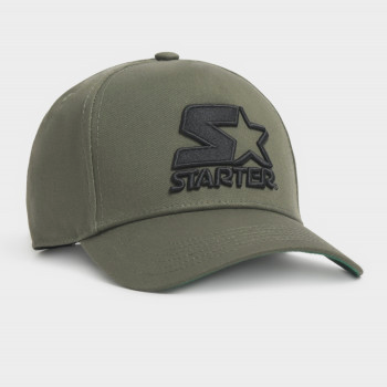 Starter Brand Throwback Black Label Olive Cap