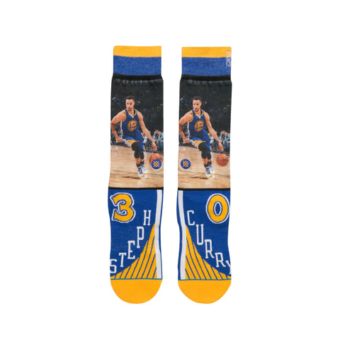 Golden State Warriors Steph Curry NBA Future Legends Stance Socks