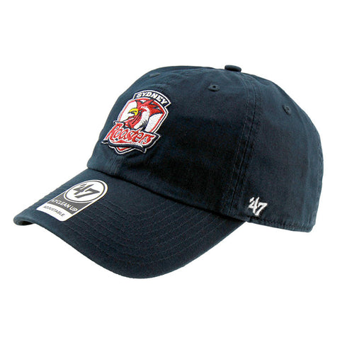 Sydney Roosters 47 Brand Clean Up Strapback Navy Cap