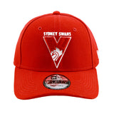 Sydney Swans 9forty Strapback New Era Red Cap