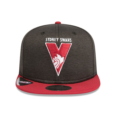 Sydney Swans Grey Red New Era 9fifty Snapback Cap