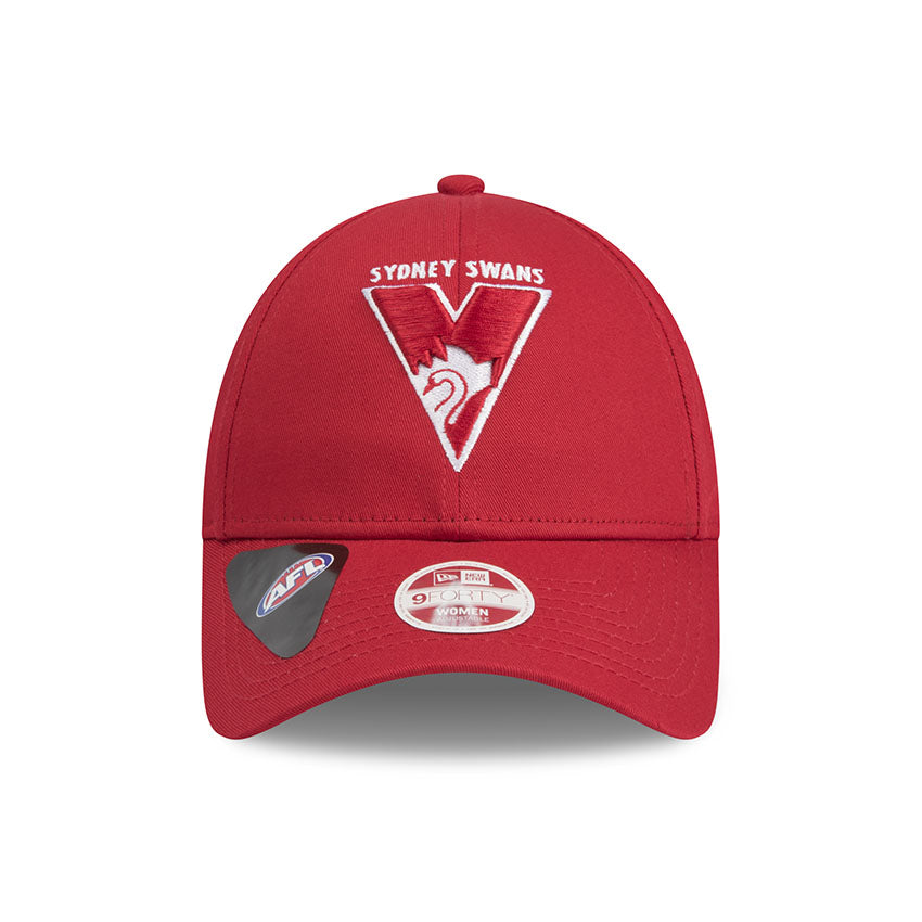 Sydney Swans Red New Era 9forty Adjustable Cap Women s 3f95cc222