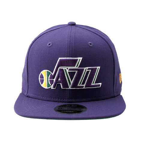 Utah Jazz New Era NBA Purple Snapback Cap