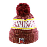 Washington Redskins New Era NFL On Field Knit Cuffed Beanie