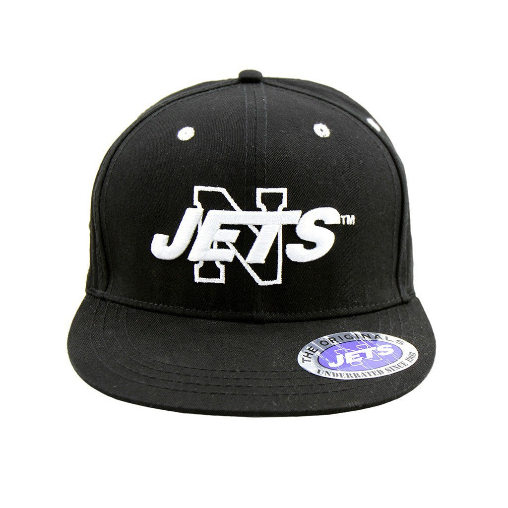 Local Team Support - Newtown Jets - Sydney Local Flat Snapback Black Cap