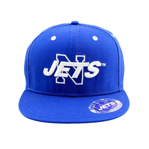 Newtown Jets - Sydney Local Flat Snapback Blue Cap