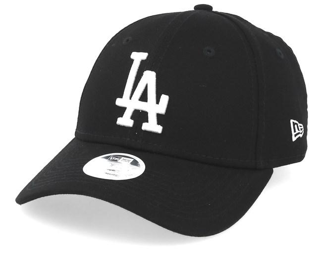 Los Angeles Dodgers New Era Black 9forty Adjustable Cap Women