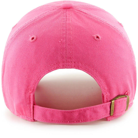 Los Angeles Dodgers '47 Brand Pink Clean up Strapback Cap