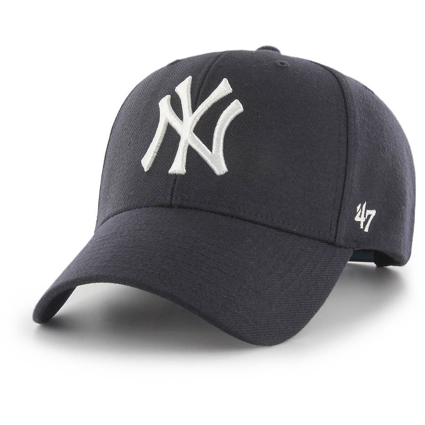 df128317733a2 New York Yankees  47 Brand Navy MVP Snapback Cap – Lidzcaps