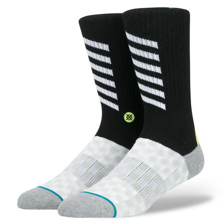 Fashion Stance Socks: Transparent road signals