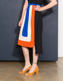 Tyringham Colorblock Skirt