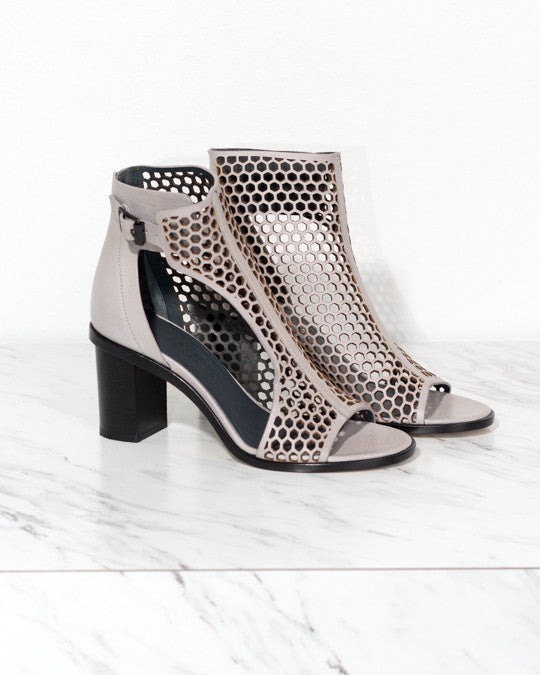 Faas Perforated Leather Heel