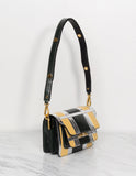 Ayer Snakeskin Shoulder Bag