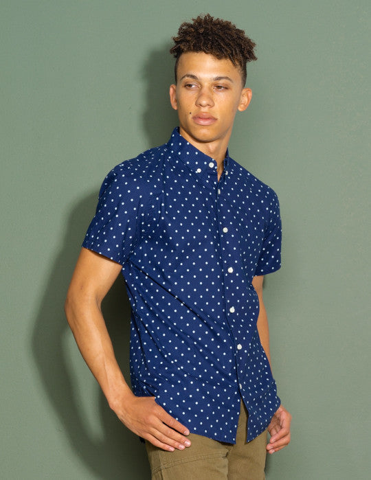 Slim Fit Button Down