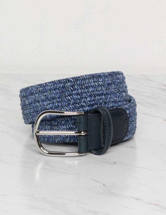 Cotton & Linen Elasticated Belt