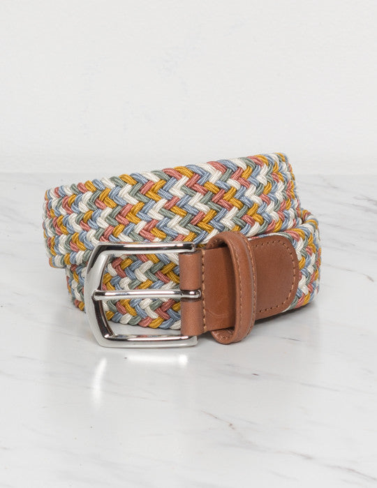 Multicolor Elasticated Belt