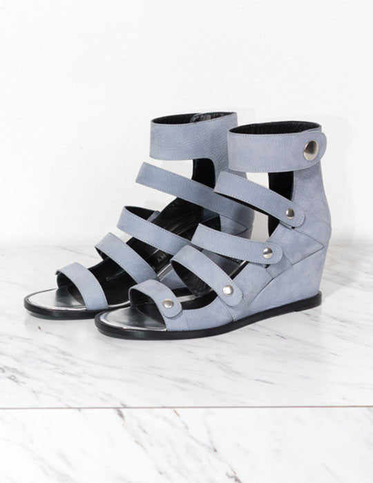 Olivia Nubuck Wedge