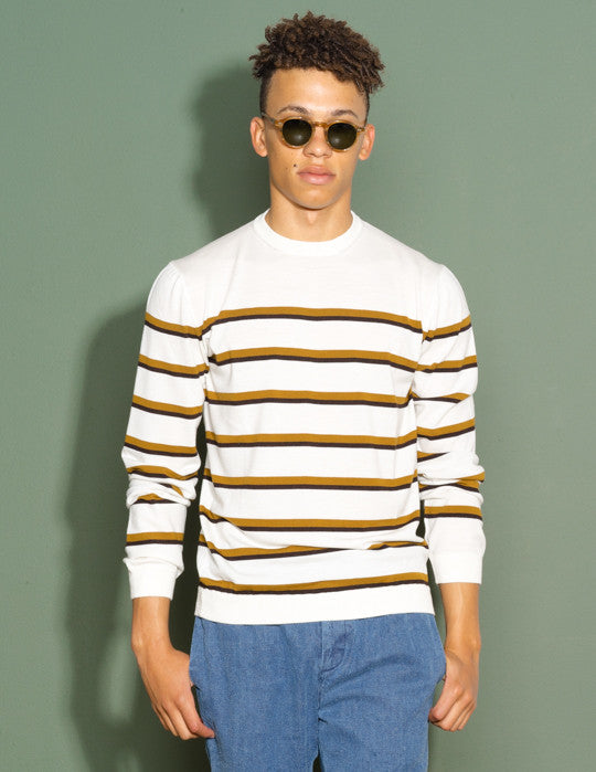 Rep Stripe Crewneck