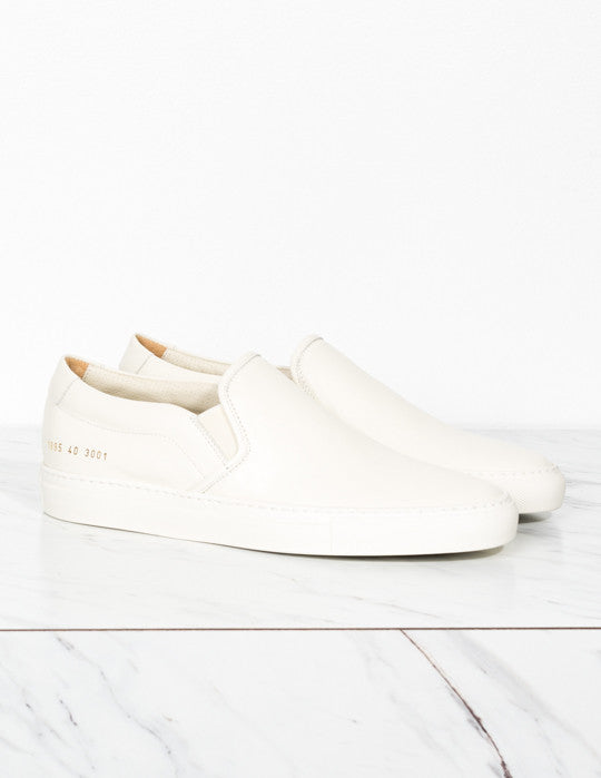 Leather Slip-On Sneaker