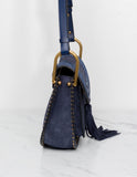 Hudson Suede Shoulder Bag
