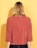 Cassia Silk Top