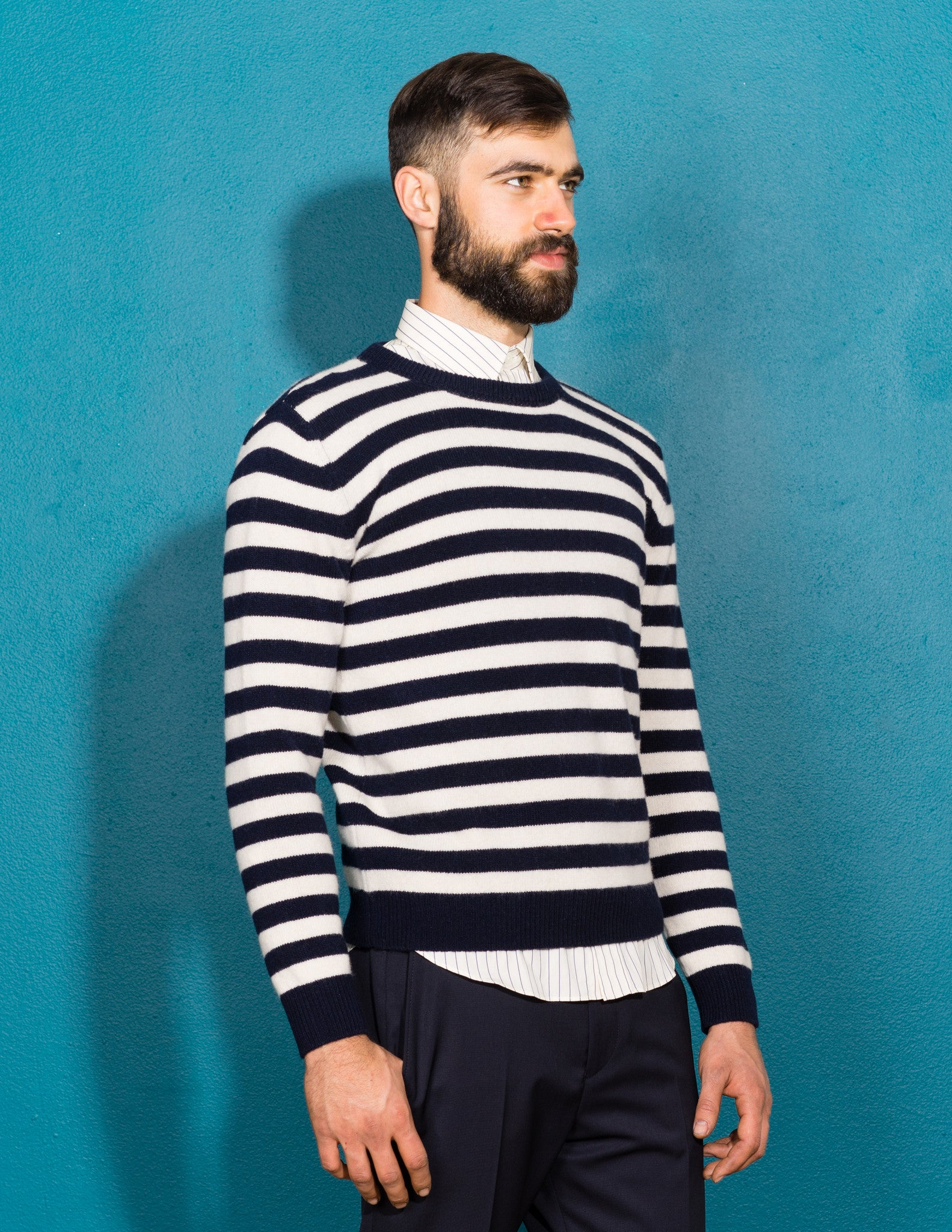 Wool Sailor Sweater