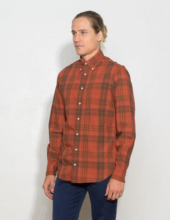 Archive Madras Button Down