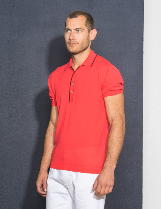 Tipped Trim Polo