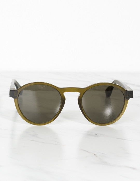 Raw Peridot Sunglasses