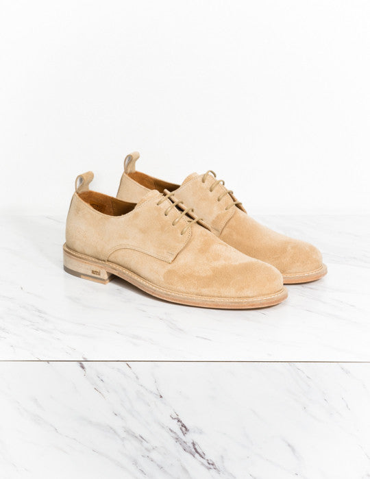 Suede Derbies