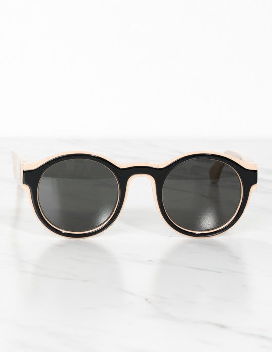 Nude & Black Dual Sunglasses