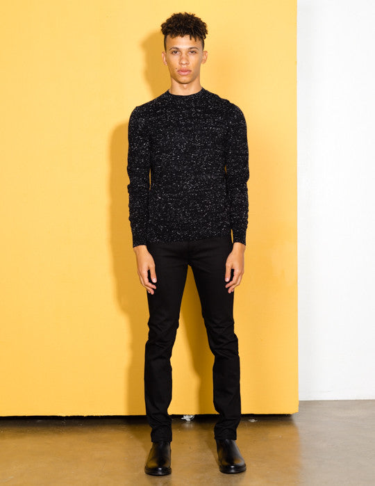 Slim-Fit Flecked Sweater