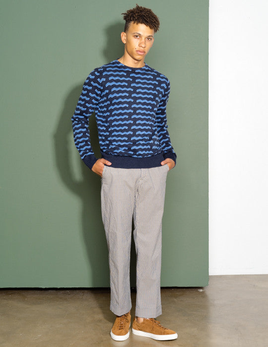 A.P.C. Col Montant Pullover
