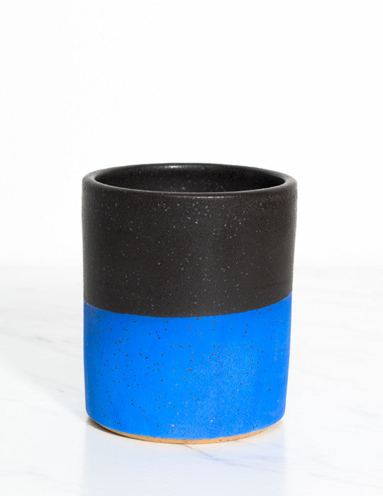 Blue Bottom Cup