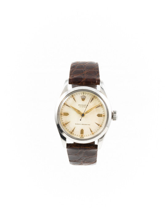 Vintage Rolex Stainless Steel Oyster