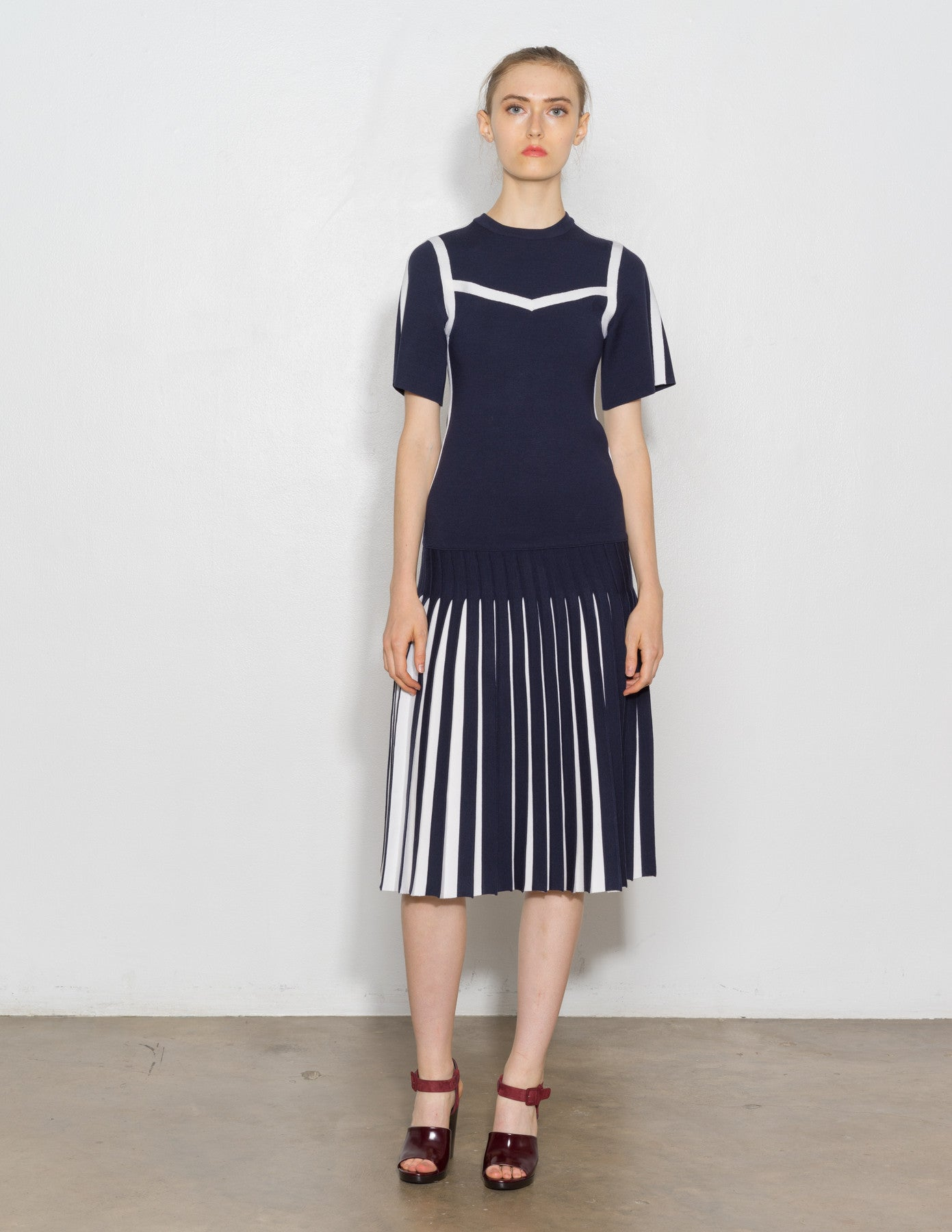 Tandori Pleated Dress